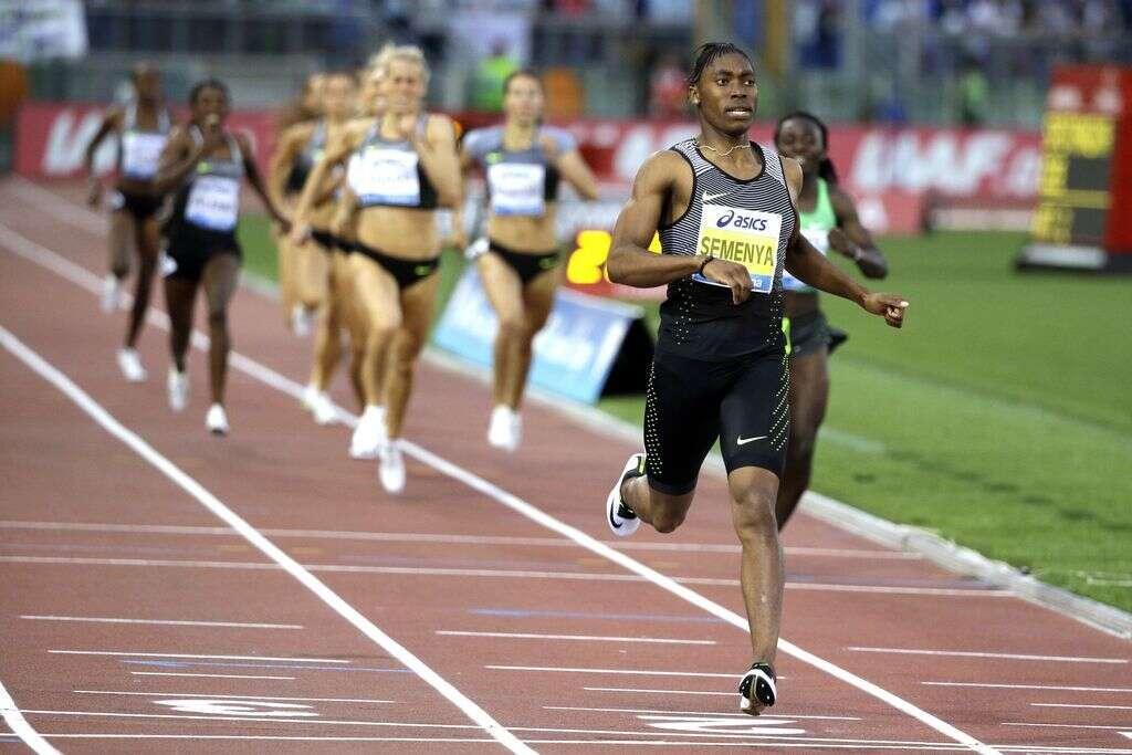 Semenya sets leading time