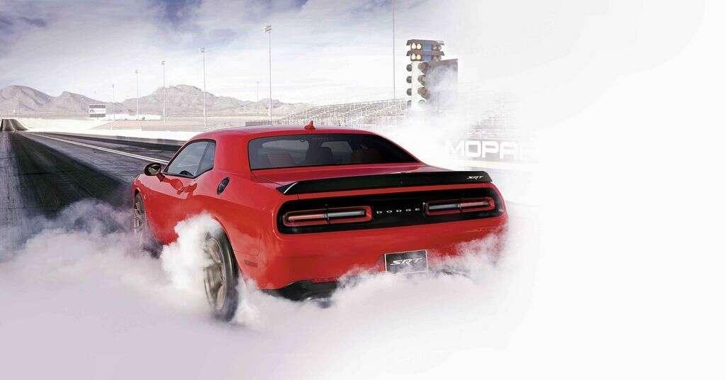 Car Review Dodge Challenger Srt Hellcat Khaleej Times