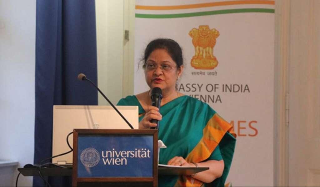 Indian envoy, Ambassador to Austria, Renu Pall,