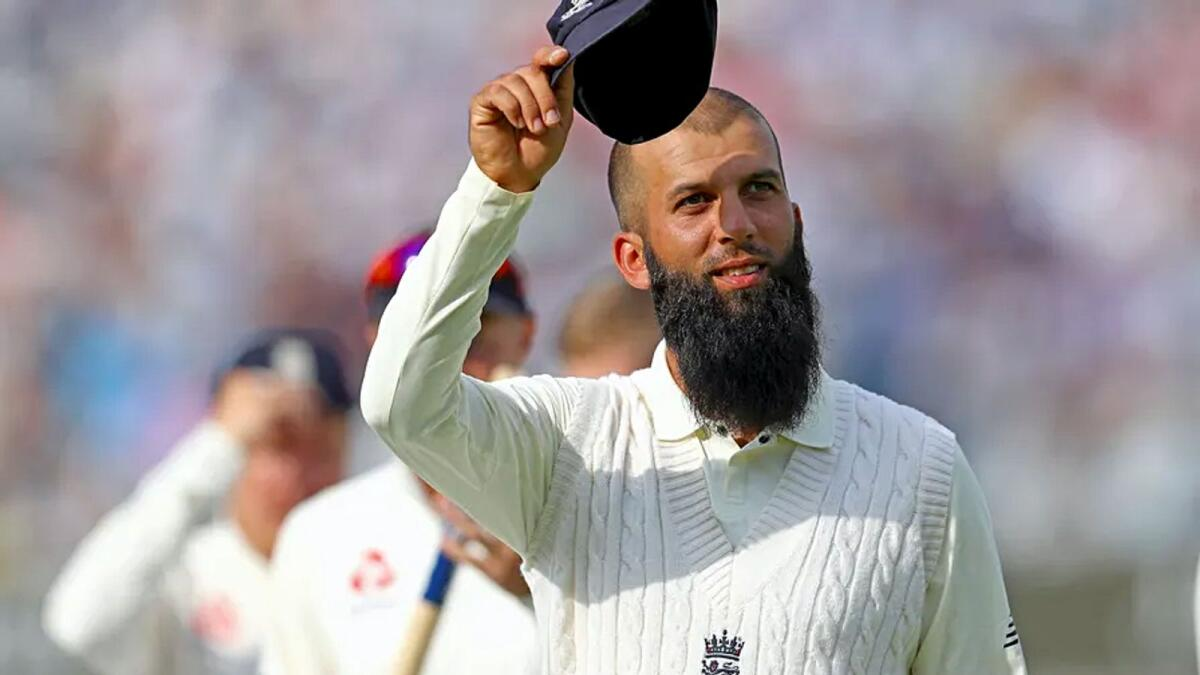 Moeen said that he was satisfied with his Test career and hoped it would inspire other British Muslims to play for England. — ANI file