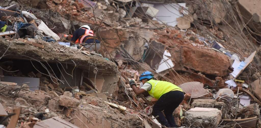Building collapse, Missing