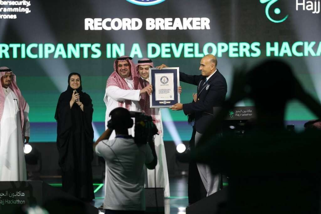 Hajj Hackathon breaks Guinness World Record for most