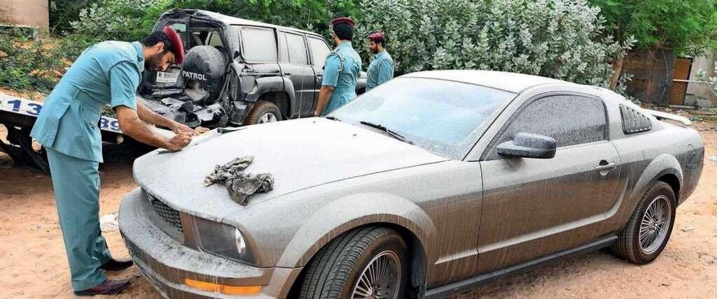 Ras Al Khaimah Police, seize, 820, abandoned vehicles