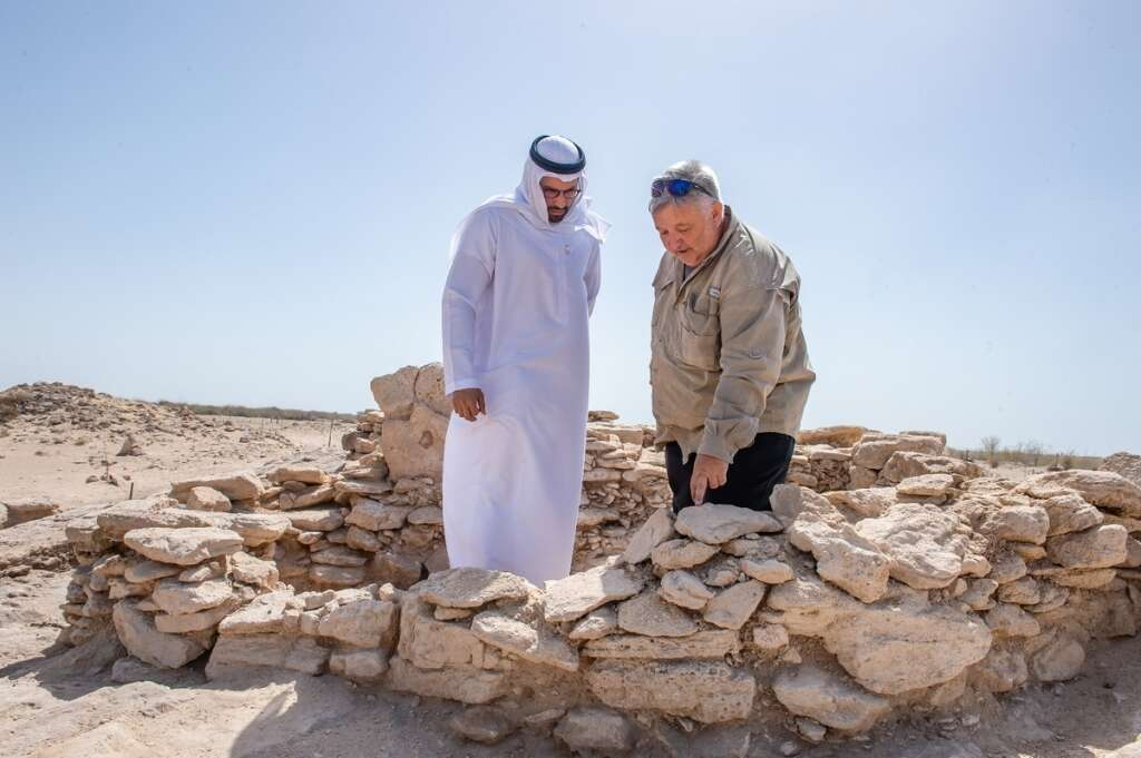 8,000-year-old archeological discovery in UAE