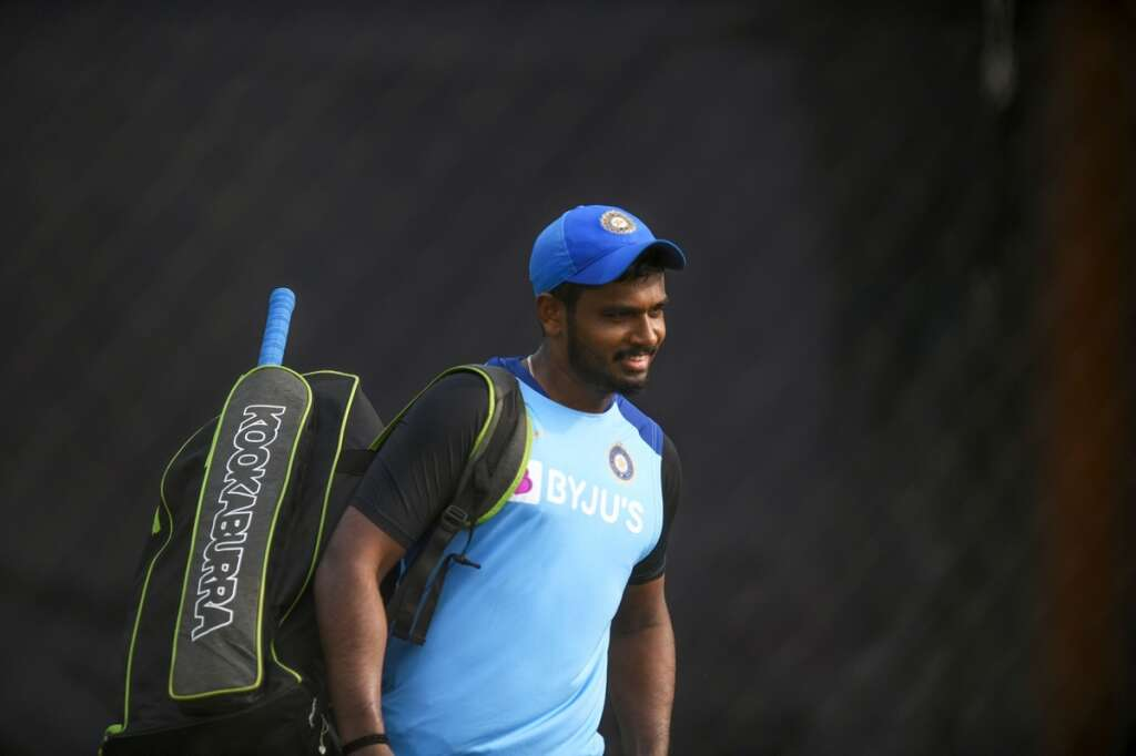 Samson replaces Dhawan in T20 team for NZ tour