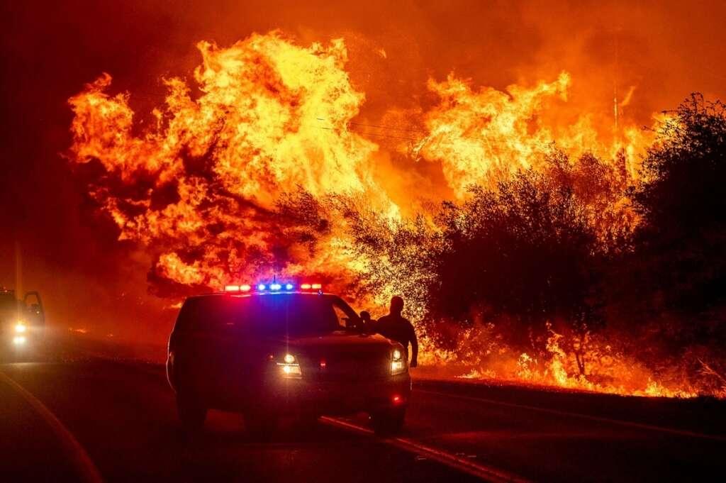 Wildfires, us, west, coast