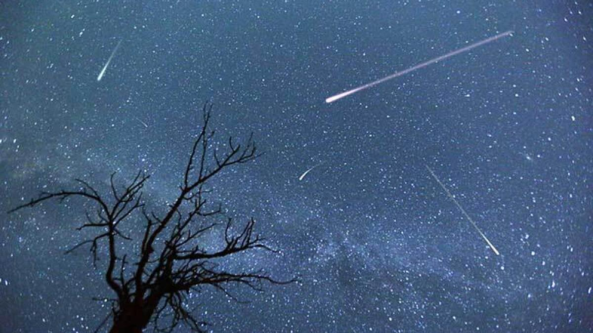 The Perseids arise when Earth passes through the debris of Comet 109P/Swift-Tuttle.- Alamy Image