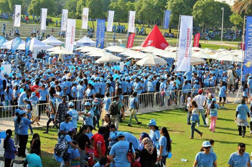 Array, events, mark, World Diabetes Day, UAE, Dubai Health Authority, DHA,