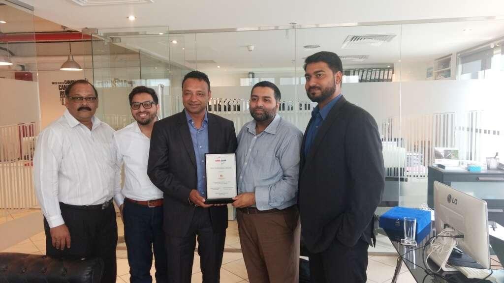 Al Sharqi Shipping receives CMAs customer award