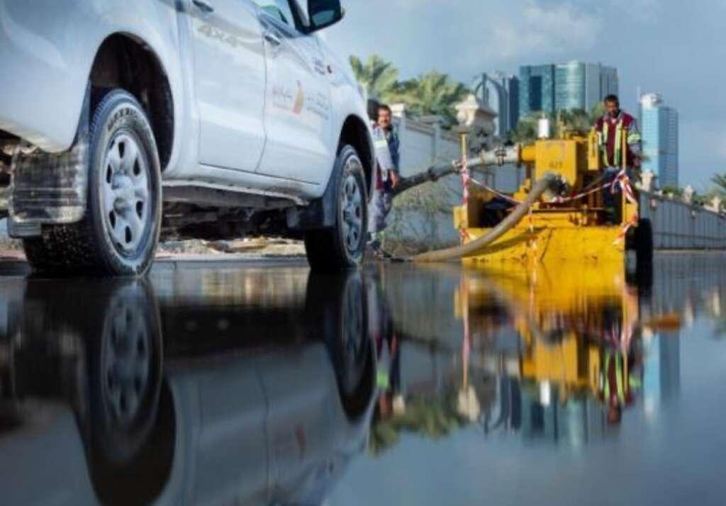 Photos, drain water, drained, dubai roads, Dubai Media Office, UAE