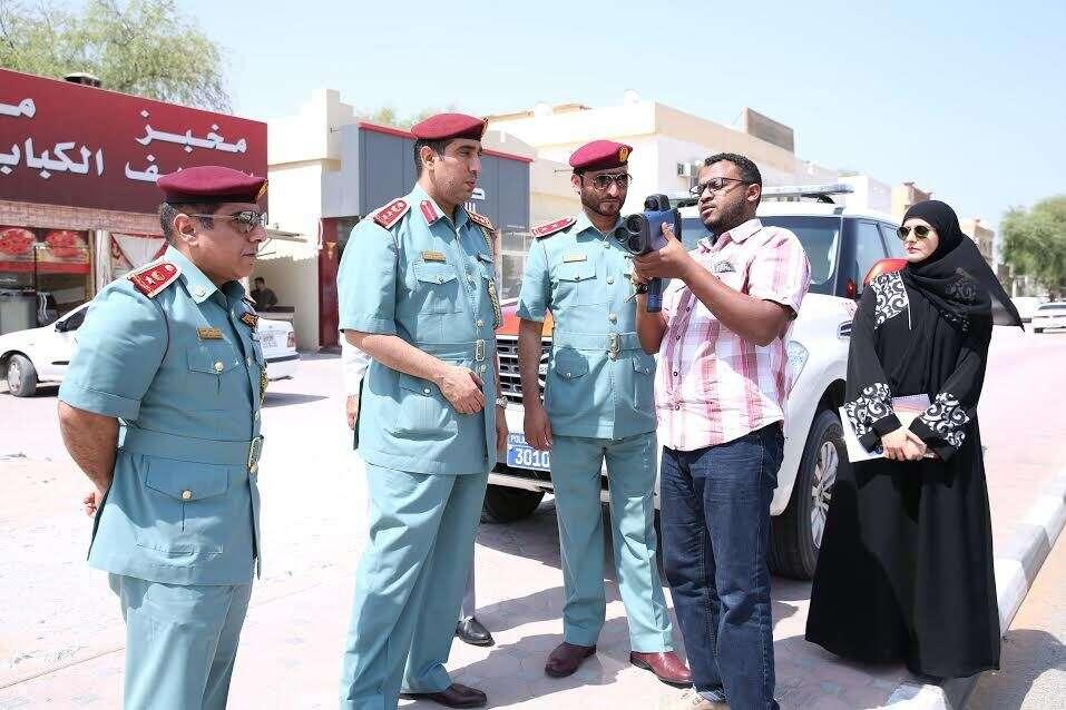 Ras Al Khaimah roads now monitored with laser speed gun