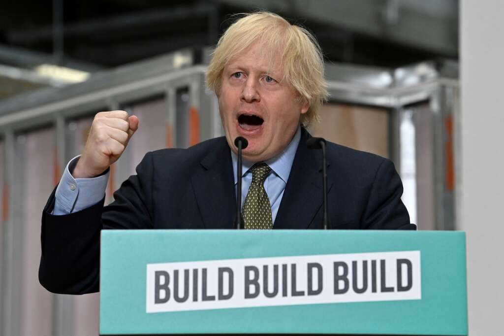 Boris Johnson, Britain, infrastructure, revolution, UK, coronavirus, Covid-19, crisis