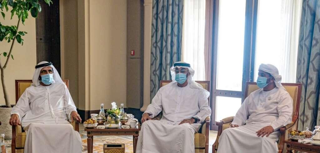 Sheikh Mohammed, Sheikh Mohamed, UAE, coronavirus, Covid-19, successdul handling, meeting