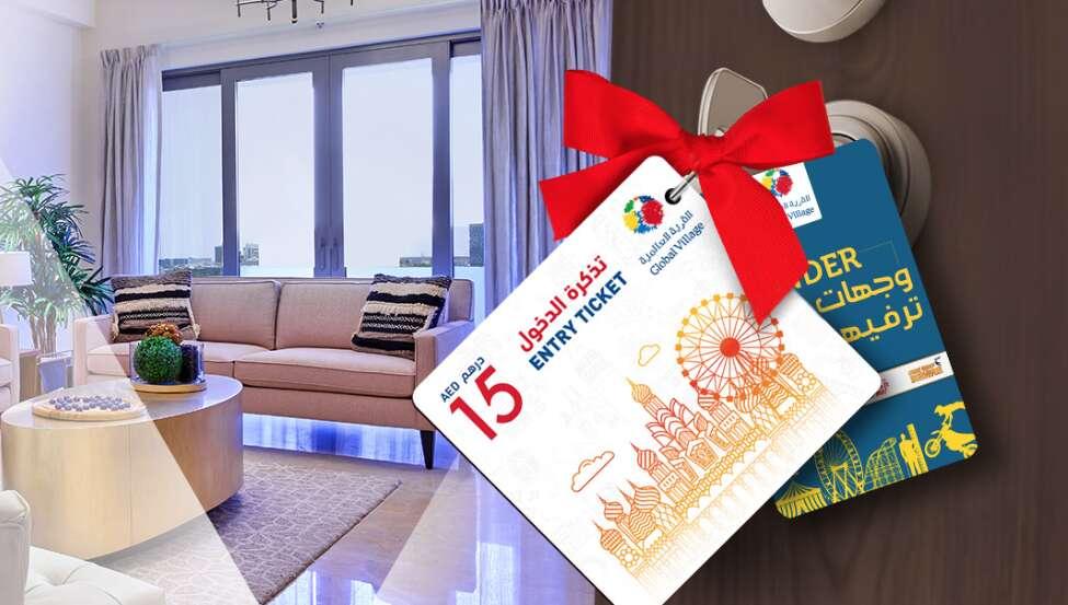 Global Village, Dubai, Manazel Al Khor, Dubai Holding, apartment, lucky draw