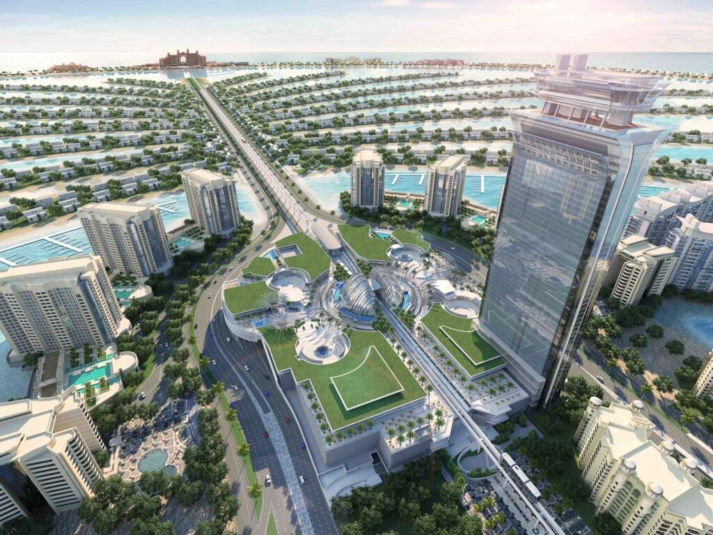 41c90365 The Palm Tower will be directly connected with the Nakheel Mall, which is  70 per cent leased out.