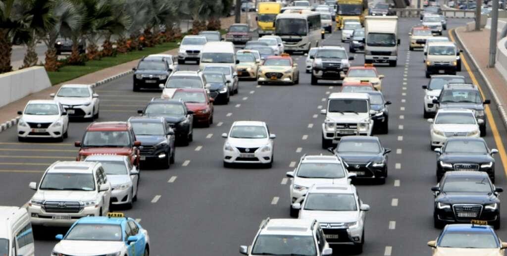 accidents, tailbacks, UAE motorists
