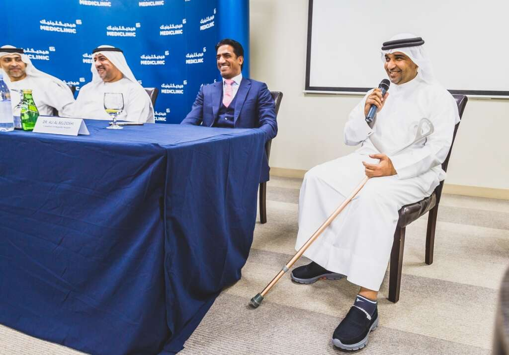 Dubai Hospital Conducts First Robotic Assisted Knee Surgeries
