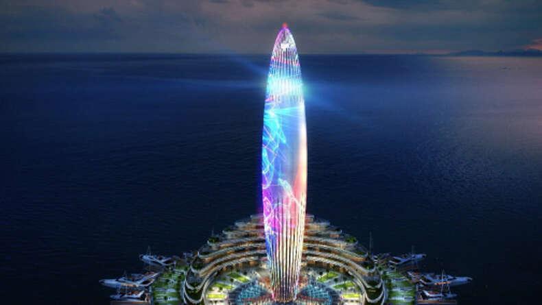 WATCH: Dubai welcomes 2017 with stunning Dubai Harbour