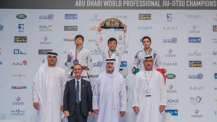 Brazil dominate in Abu Dhabi World Professional Jiu-Jitsu