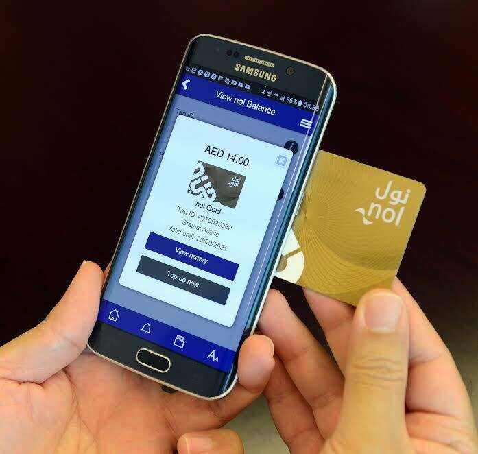Now, recharge Nol card directly from your smartphone