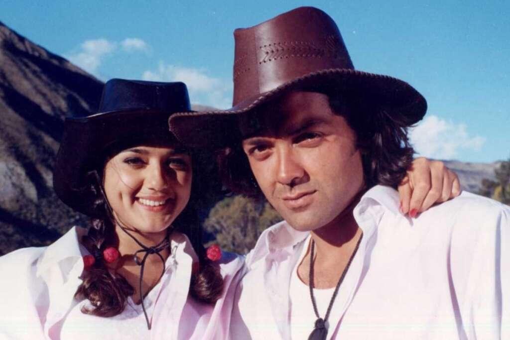 Bobby Deol, Preity Zinta, Bollywood