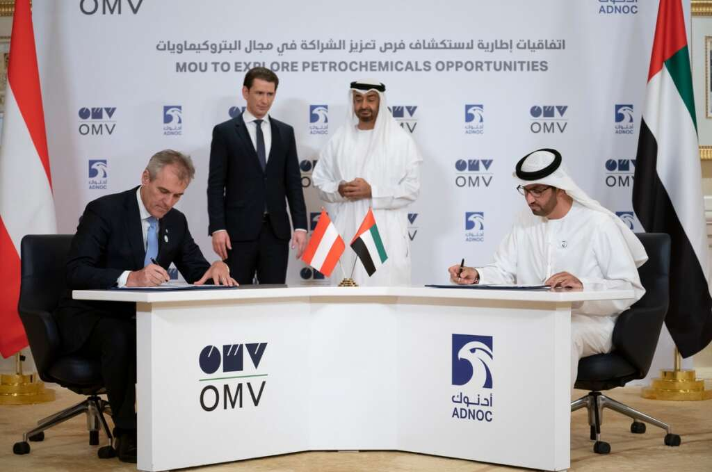 Adnoc, Austrian firms boost cooperation in energy sector