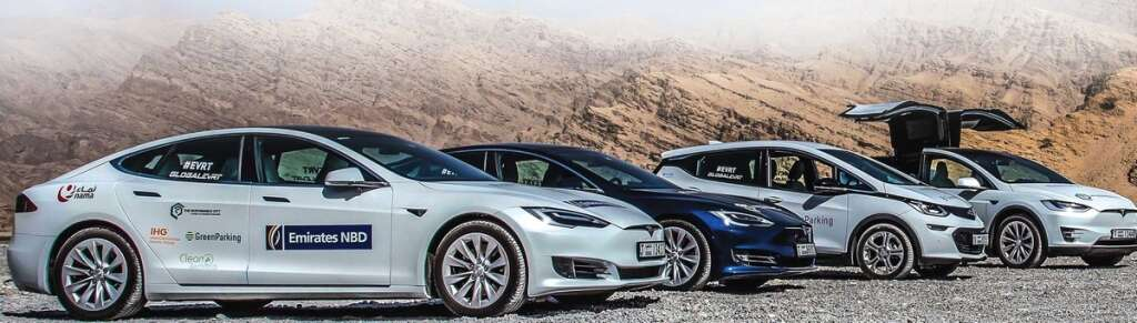Electric Vehicles Charged Up For Trip Khaleej Times