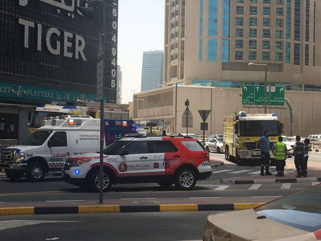 Minor Tiger tower fire in Dubai brought under control