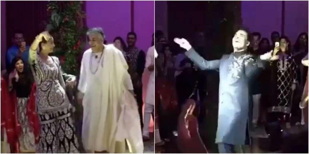 Video Bollywood Stars Burn The Dance Floor At High Profile Wedding