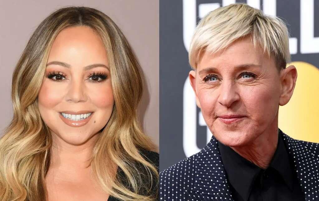 Mariah Carey, Ellen, The Ellen DeGeneres Show, pregnancy, rumours, confronted, uncomfortable, Vulture, interview, singer, talk, show, host, Hollywood