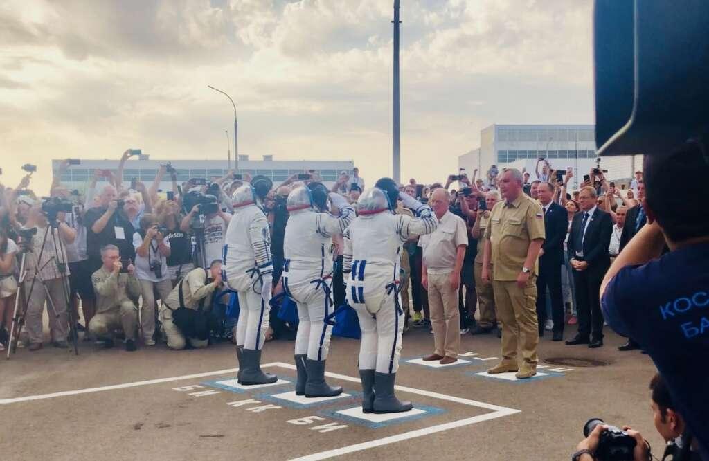 Revealed: How UAE astronaut will bid farewell to family