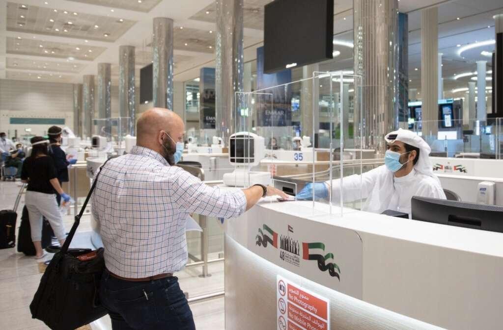 ICA/GDRFA approval, Dubai, travel permits