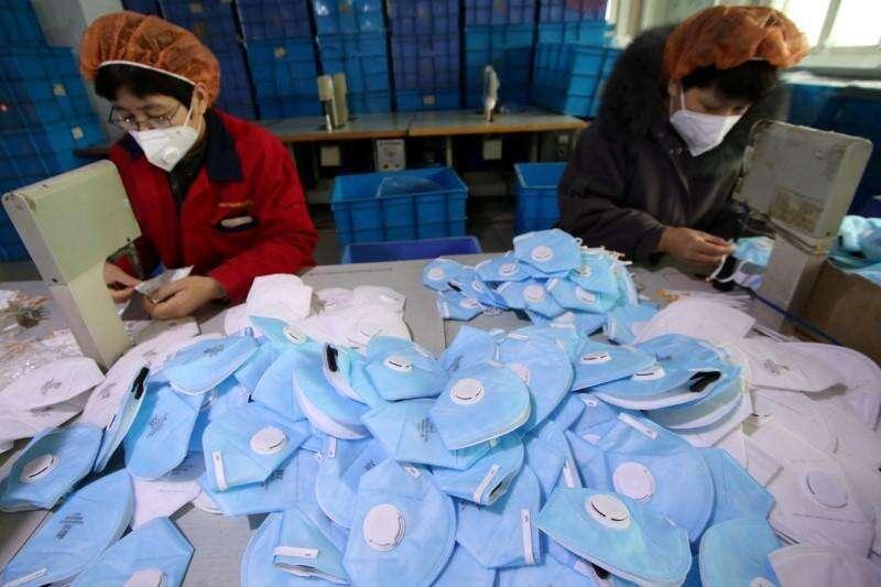 China, masks, covid-19
