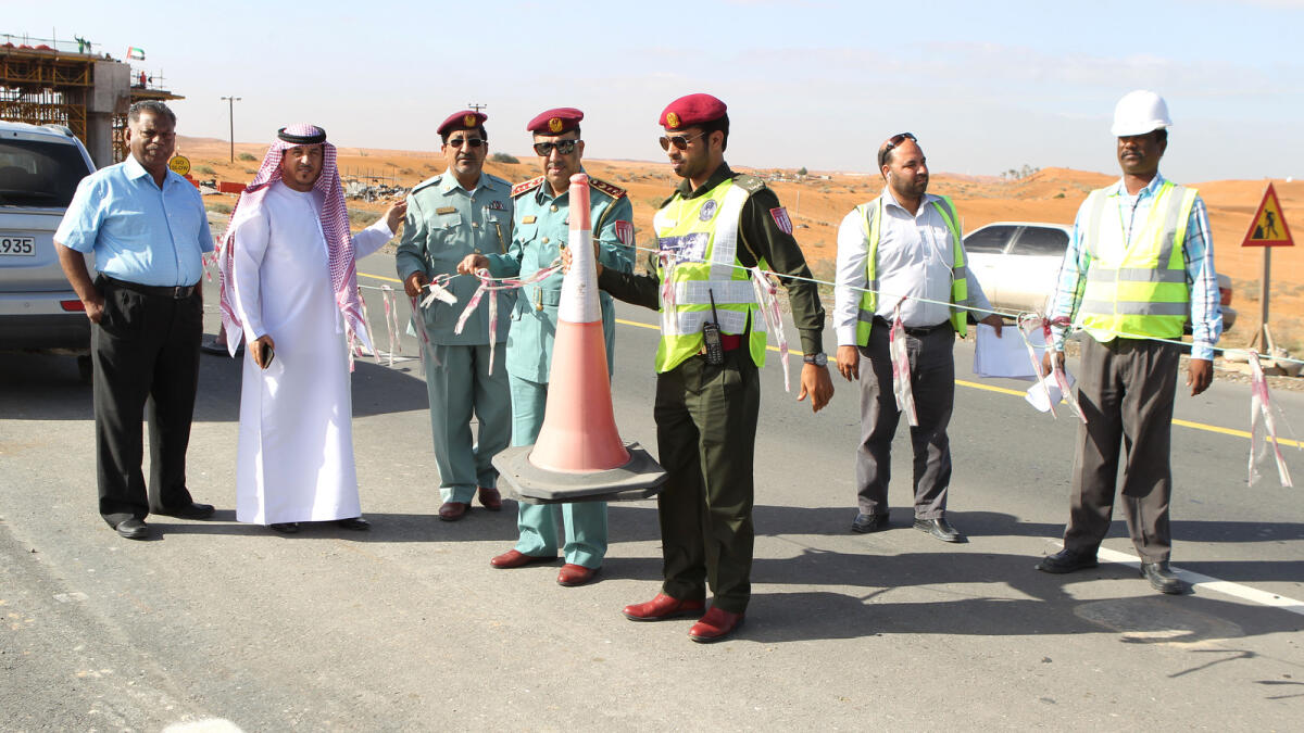Partially-closed road in RAK opens after 2 years