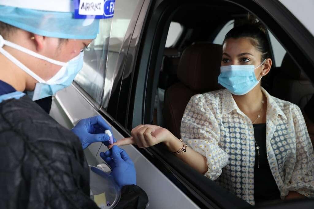 Combating, coronavirus, More, Dh50, Covid-19 testing centres, opened, across, UAE