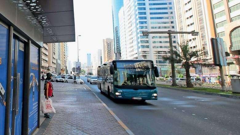 Abu Dhabi, bus terminal, covid-19, Combating Covid-19, uae