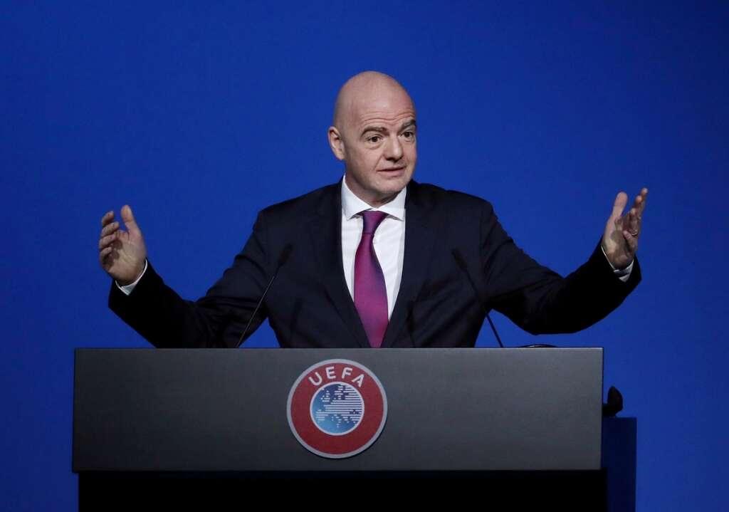 Covid-19: Fifa chief Gianni Infantino says football will be ...