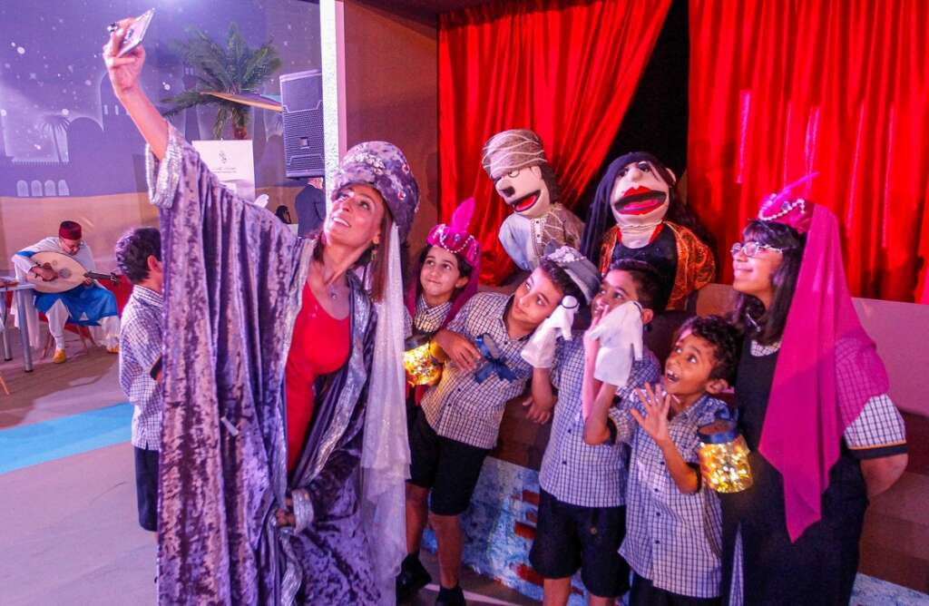 Storytellers, performers from around the world gather in Sharjah