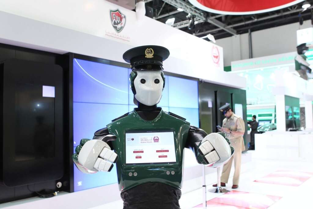 Dubai gets its first robot policeman