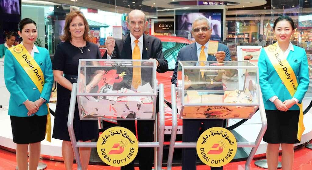 Indian expat wins $1 million at Dubai Duty Free raffle