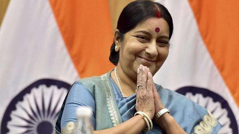 Sushma Swaraj to visit Saudi Arabia from Today