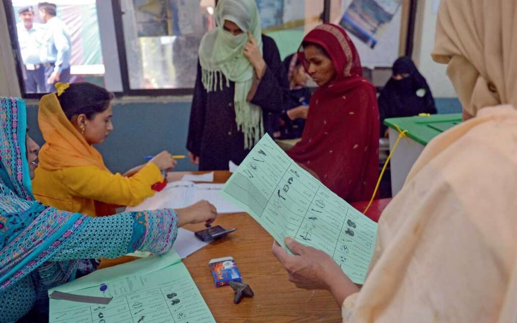 Eight million Pakistanis are spread across the world, including those in the UAE. The expat population has been asking for overseas voting rights and five seats in the Pak senate for a long time. — AFP File