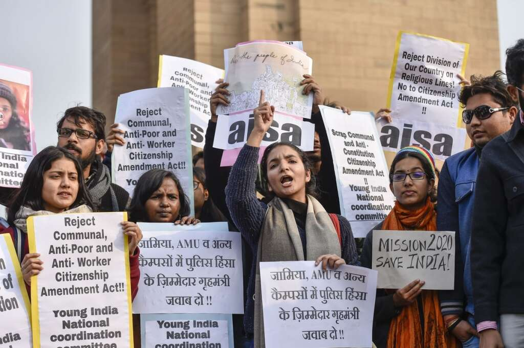 CAA protesters, india, Lucknow