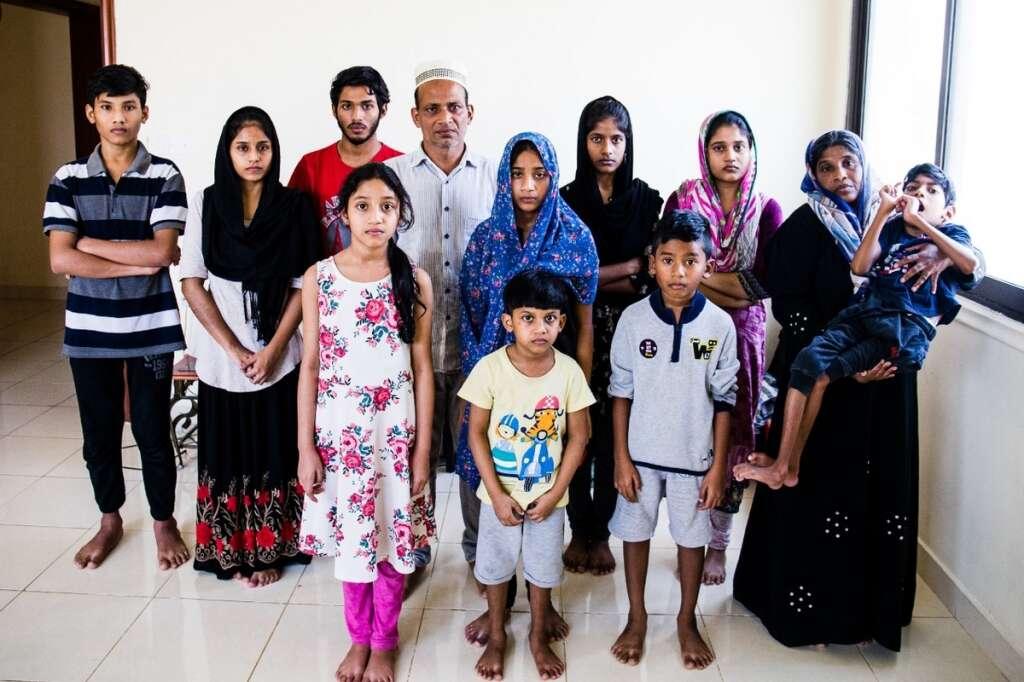 Sri Lankan couple, 10 kids, seek, help, shelter, Dubai