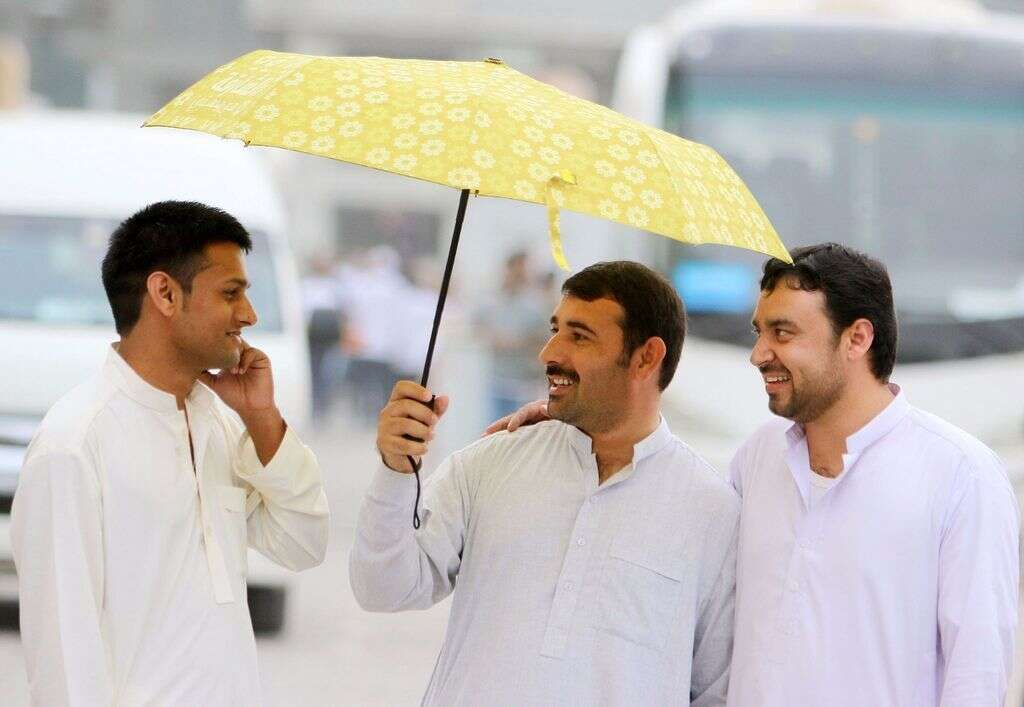 Watch: Dusty, rainy weather to continue across UAE