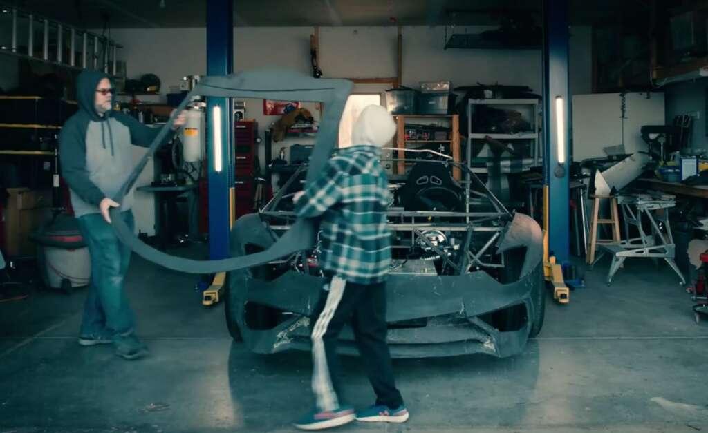 Lamborghini, replica, Aventador, Katia Bassi