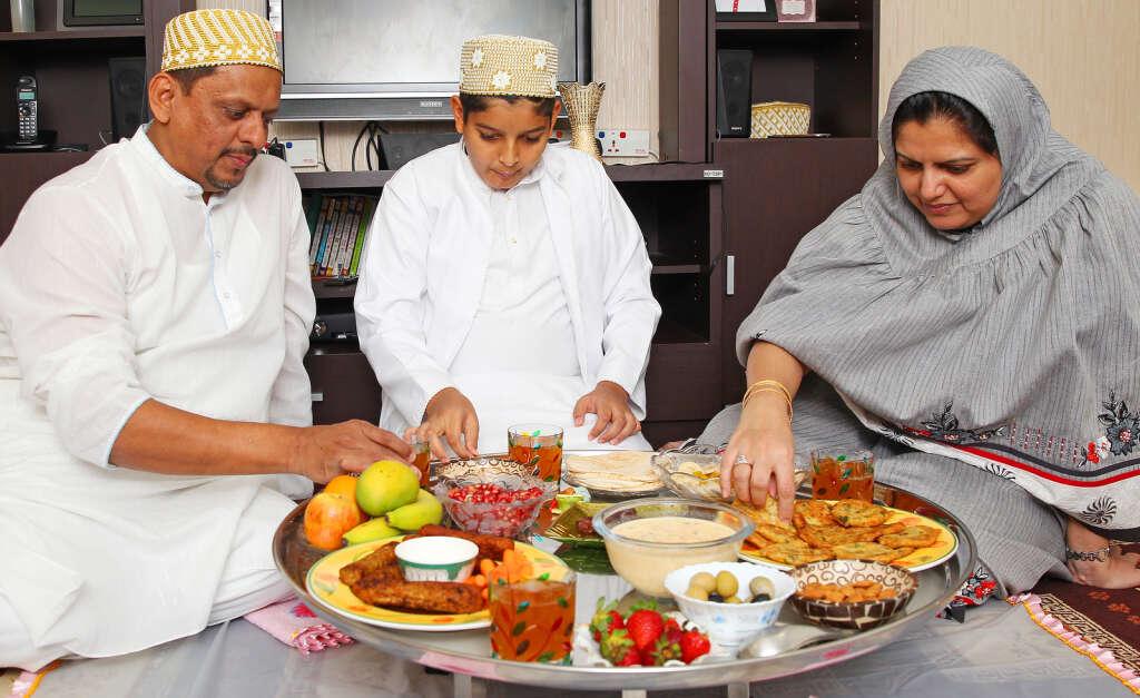The Bohras have a unique iftar custom