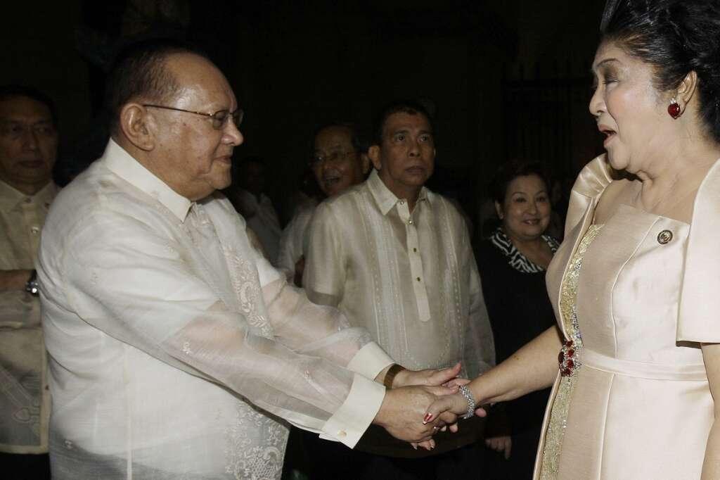 Philippine tycoon, Eduardo, Marcos ally