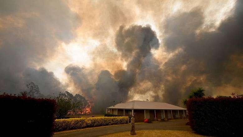 emirates, funds, bushfire, relief