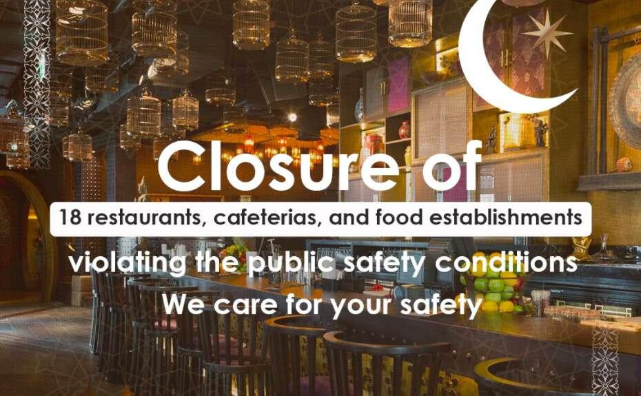 coronavirus, covid-19, dubai municipality, sanitisation, restaurant, cafeteria, food establishments